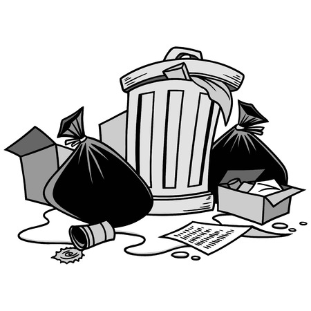Garbage Illustration