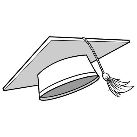 卒業キャップ イラスト