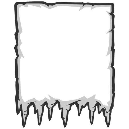 Ice Background Illustration Ilustração