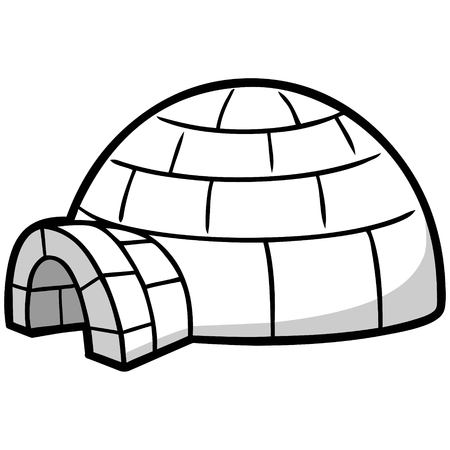 Igloo Illustration
