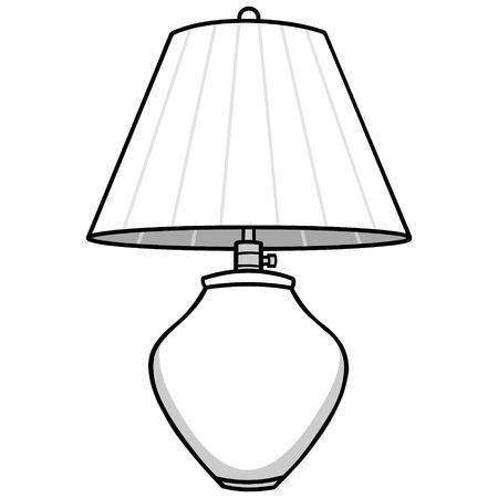 Lamp illustration.