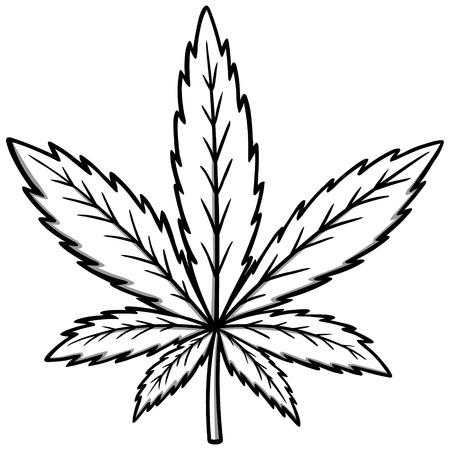 substances: Marijuana Illustration