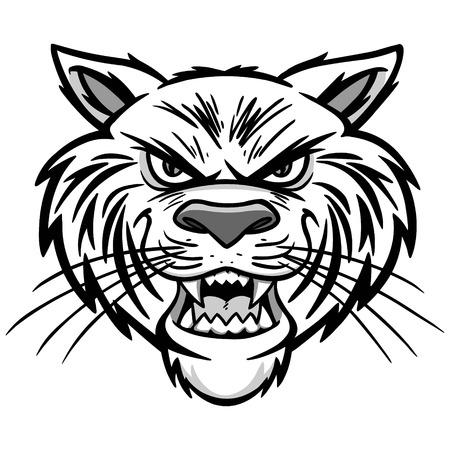 Wildcat Illustration Illustration