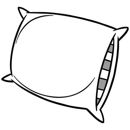 Pillow Party Illustration Banco de Imagens - 71730159