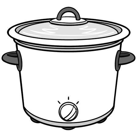 Potluck Illustration