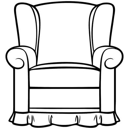 recline: Recliner Illustration