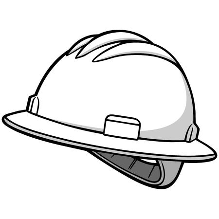 Roughneck Hard Hat Illustration