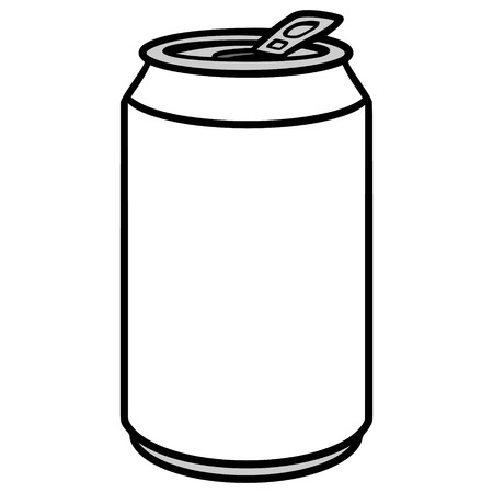 Soda Can Illustration