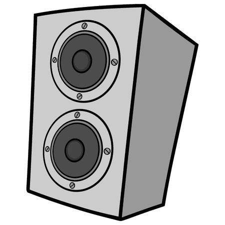 Speaker Cabinet Illustration