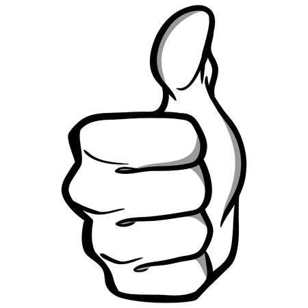 Thumbs Up Illustration
