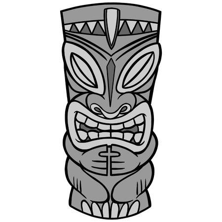 Tiki Illustration