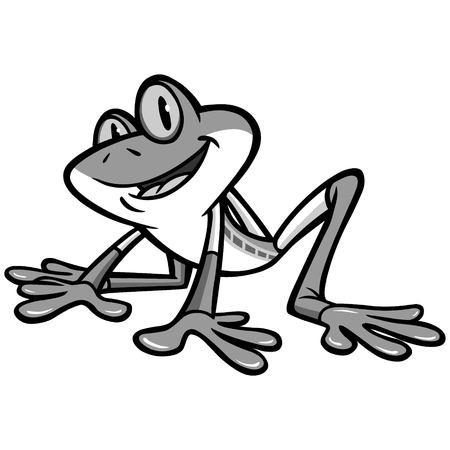 Tree Frog Illustration