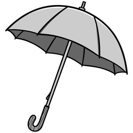 Umbrella Illustration Illustration