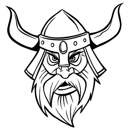 Viking Warrior Illustration