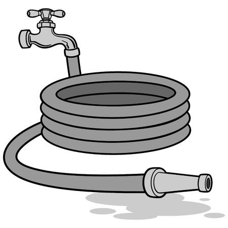 Water Hose Illustration