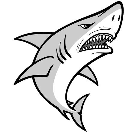Shark Approach Illustration