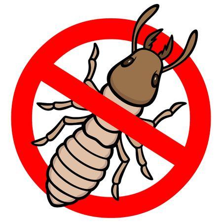 No Termite Vettoriali