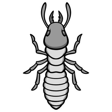 Termite Illustration Иллюстрация