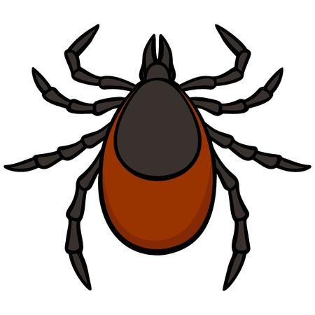Tick Ilustração