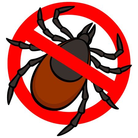 lyme disease: No Tick Illustration