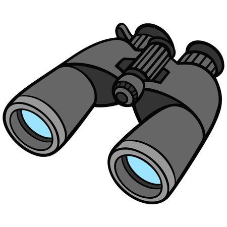 Binoculars Ilustracja