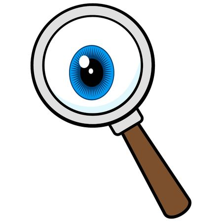 Private Eye Magnifying Glass