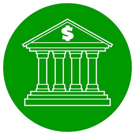 Bank Symbol 版權商用圖片 - 80711835