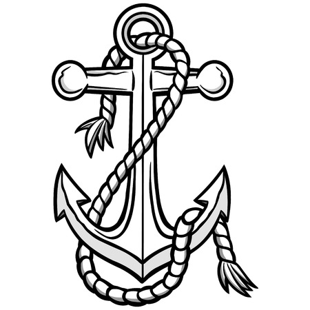 Anchor illustration. 向量圖像