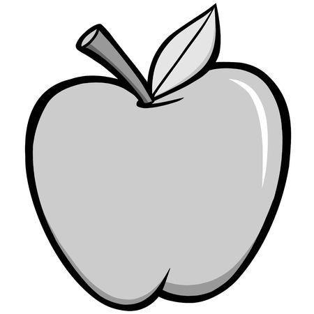 Apple Illustration