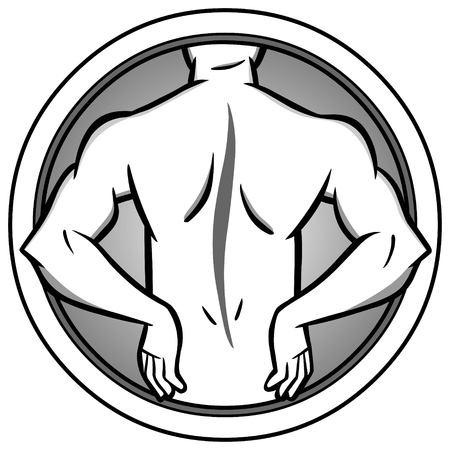 Back Injury Illustration