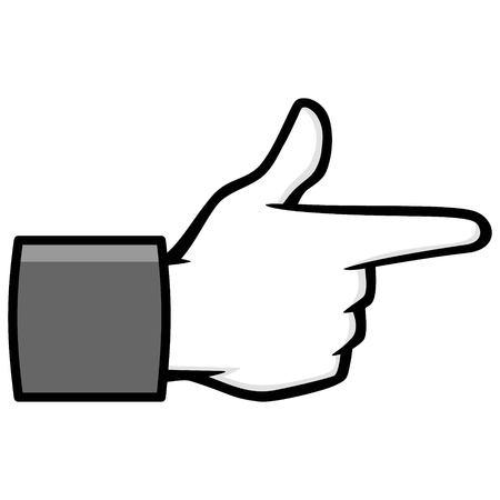Bang Bang Social Media Icon Illustration Illustration