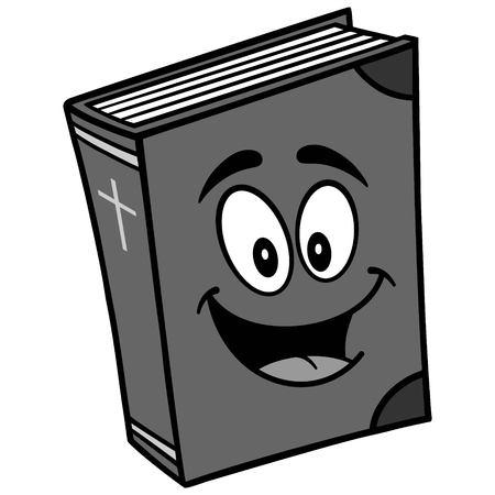 Bible School Mascot Illustration