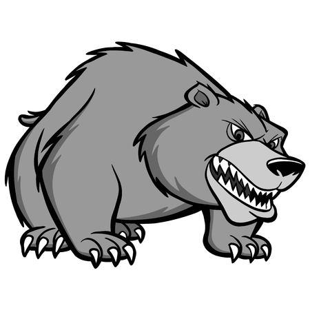 Bear Prowl Illustration