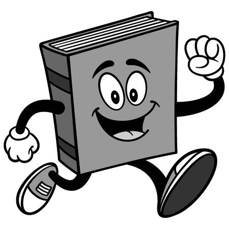 Book Run Illustration