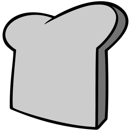 Bread Slice Illustration