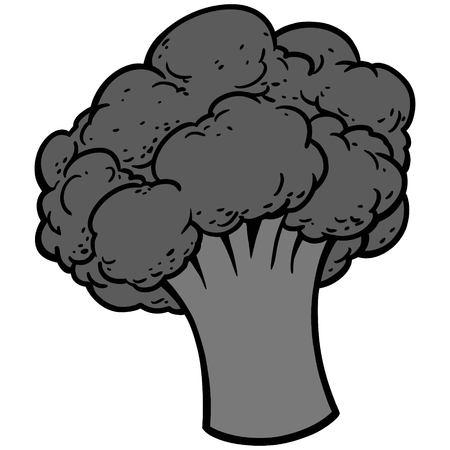 Broccoli Icon Illustration