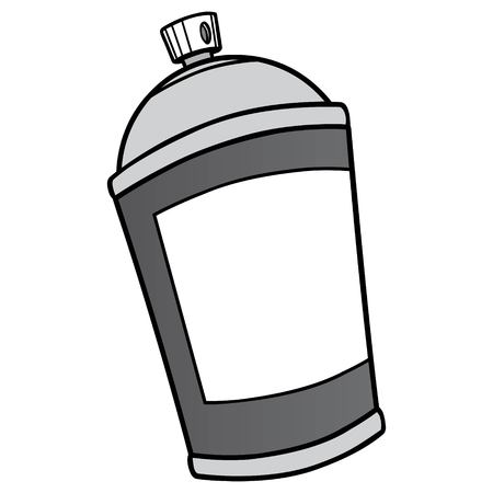 Spray Can Illustration