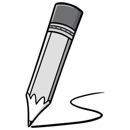 鉛筆イラスト