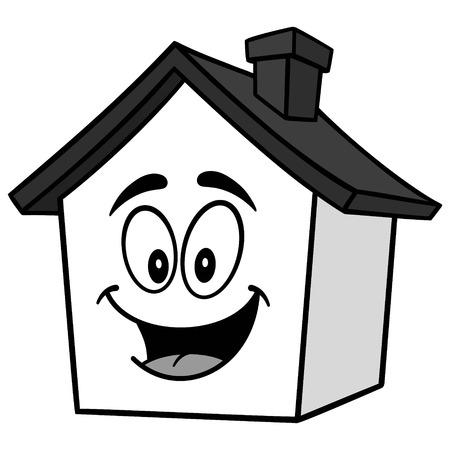 House Mascot Illustration