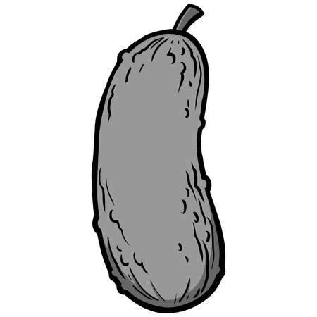 Pickle Icon Illustration
