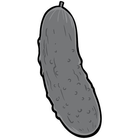 Pickle Illustration Фото со стока - 87266617