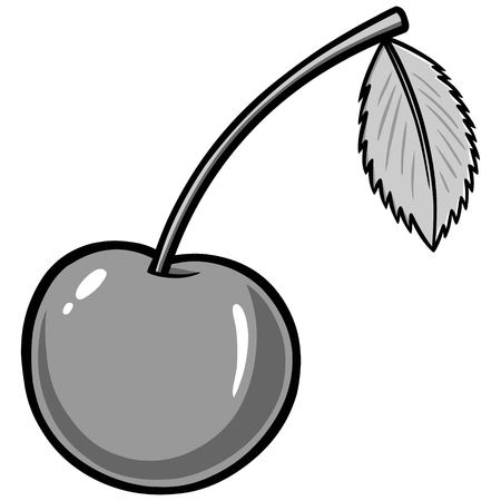 Cherry Illustration 向量圖像