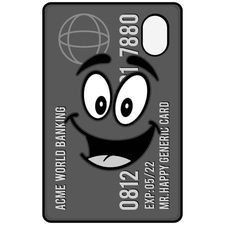 クレジット カード マスコット イラスト
