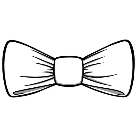 Bow Tie Illustration - A vector cartoon illustration of a Bow Tie. 向量圖像