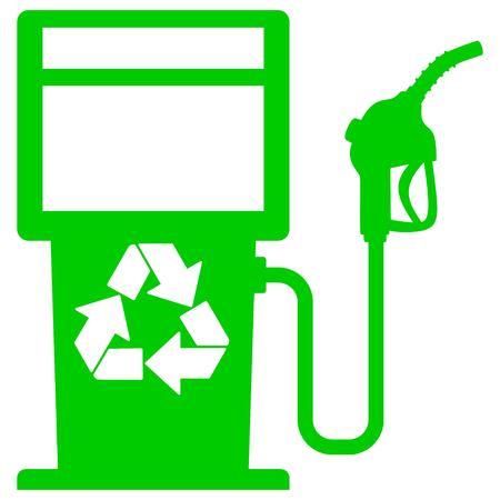 Bio Fuel Pump Graphic Vector illustration. 일러스트