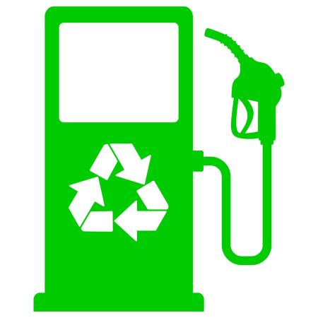 Bio Fuel Pump Icon Vector illustration.