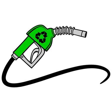 Bio Fuel Pump Vector illustration. 일러스트
