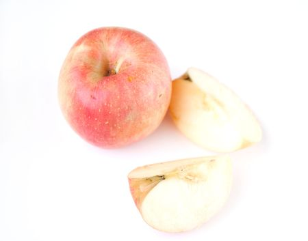 Sliced apples Stock Photo - 6369128