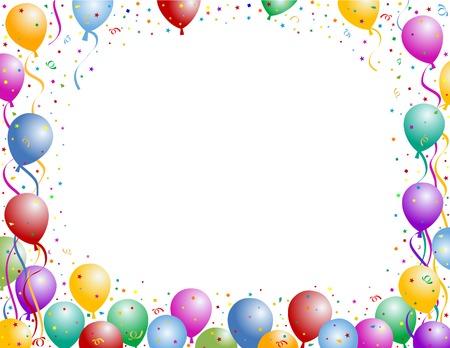 ballonnen party frame
