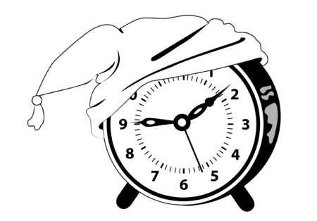 Alarm clock - Time to go to bed